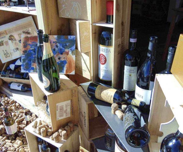 Bottiglie in esposizione - Vino e Co