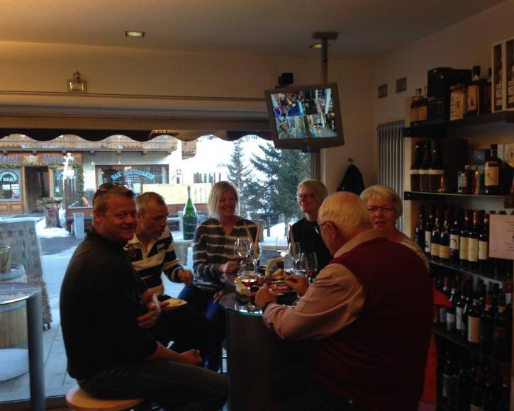 Evento degustazione vini a Livigno